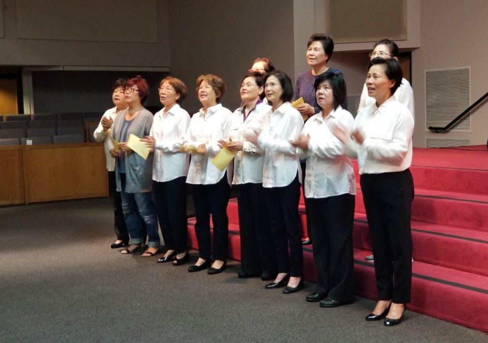 2017 여선교회 헌신예배 사진 모음